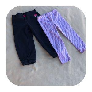 6/$15 3T Girls sweatpants & leggings